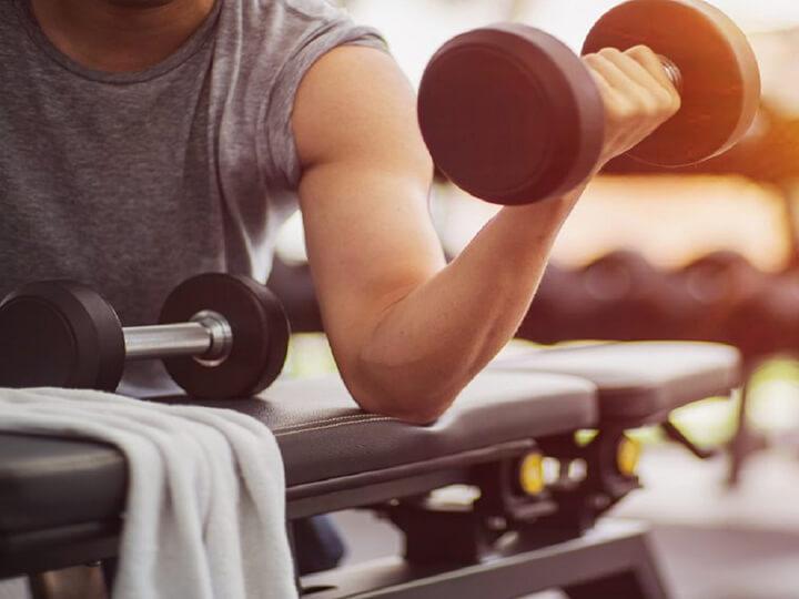 Khi bị đau cơ thì lời khuyên dành cho bạn là vẫn duy trì thói quen tập luyện.