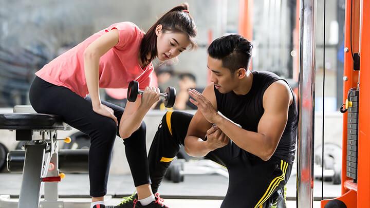 Buổi chiều là khoảng thời gian lý tưởng để tập gym