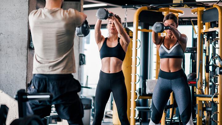 Tập Gym thường xuyên giúp giảm nguy cơ mắc các bệnh mãn tính