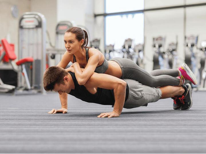 Tập Gym là cách giúp phát huy sức mạnh thể lực rất hiệu quả.