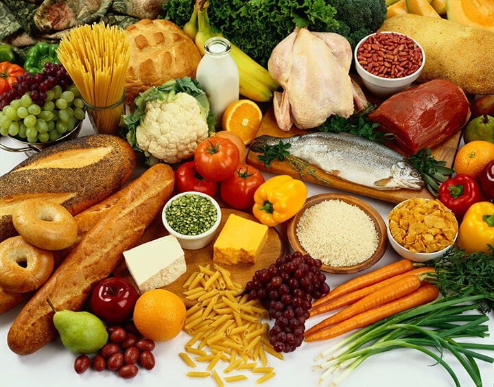 Ăn uống đầy đủ dinh dưỡng giúp cơ thể nhanh tăng cân hơn.