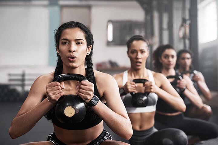 Hít thở đúng cách khi tập Gym giúp nâng cao hiệu quả tập luyện.