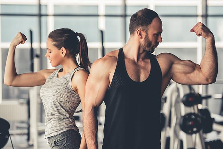 Tập Gym đúng cách giúp bạn tăng cân hiệu quả, an toàn.