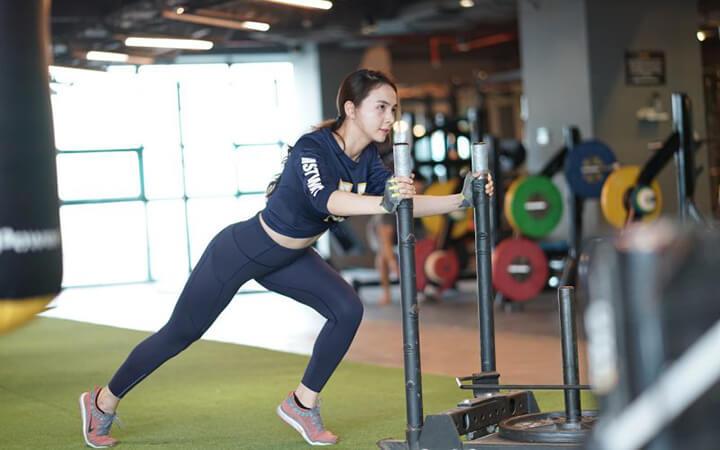 Tập Gym giúp cơ thể săn chắc, tăng cường sức mạnh cơ bắp