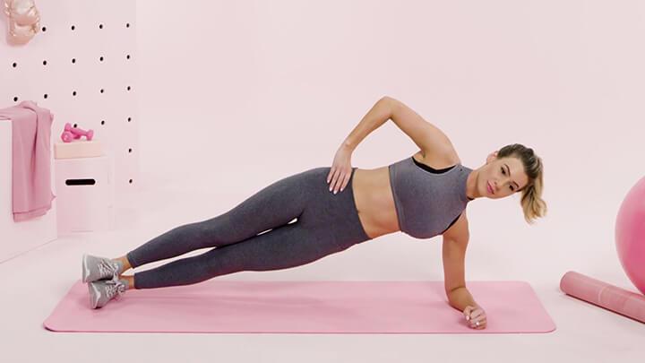 Plank nghiêng hỗ trợ tăng trưởng chiều cao rất tốt.