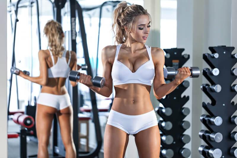 Tập gym có tăng vòng 1 không? 8 bài tập tăng vòng 1 hiệu quả