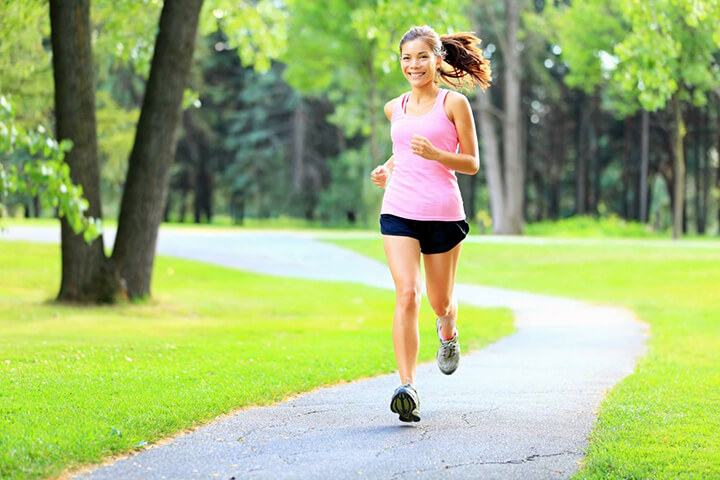 Tập thể dục buổi sáng rất tốt cho sức khỏe, làm gia tăng hiệu suất tập luyện