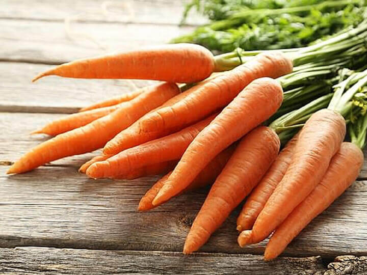 Cà rốt chứa chất tạo máu thích hợp cho người thiếu máu não