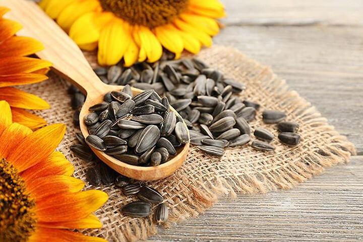 Hướng dương là loại hạt phổ biến, dễ ăn