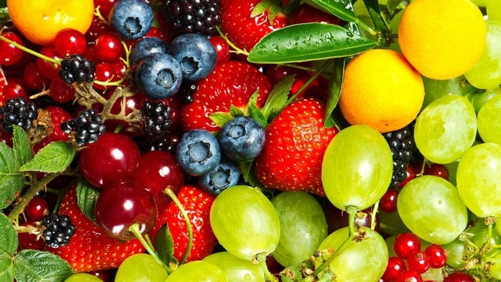 Có nhiều loại quả mọng ít calo