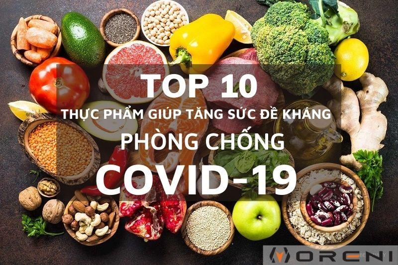 Top 10 loại thực phẩm tăng sức đề kháng tốt nhất trong mùa dịch