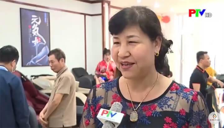 Cô Nguyễn Thị Sim cho biết rất hài lòng với các sản phẩm ghế massage Oreni vì giúp sống khỏe hơn mỗi ngày