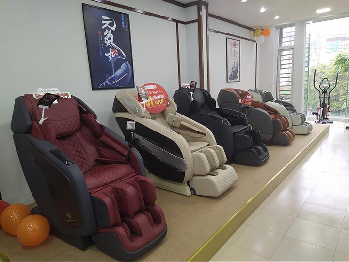 """Hàng chục mẫu ghế massage Oreni hiện đại, chất lượng cao """"đổ bộ"""" showroom 1901 Đại lộ Hùng Vương, Việt Trì, Phú Thọ"""
