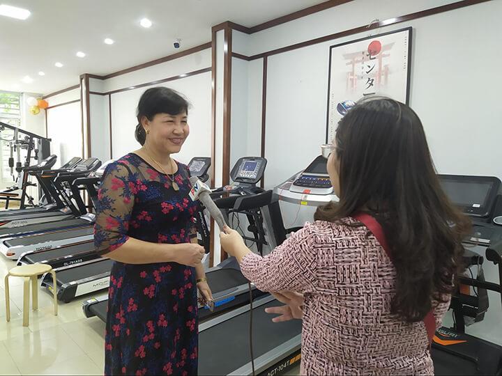 Thương hiệu ghế massage Oreni lên sóng truyền hình Phú Thọ