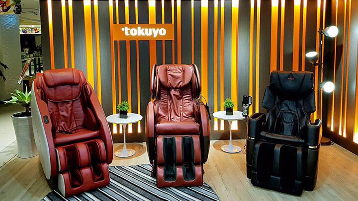 Ghế massage Tokuyo có nhiều loại để khách hàng lựa chọn