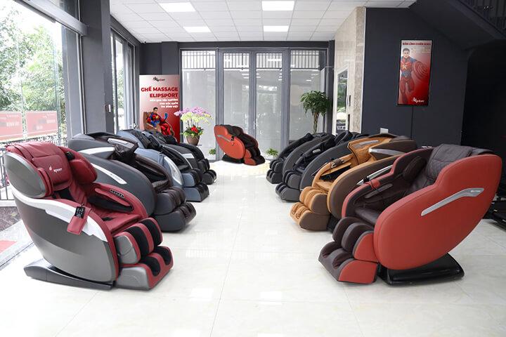Elipsport là thương hiệu có kinh nghiệm trong phân phối ghế massage tại Việt Nam