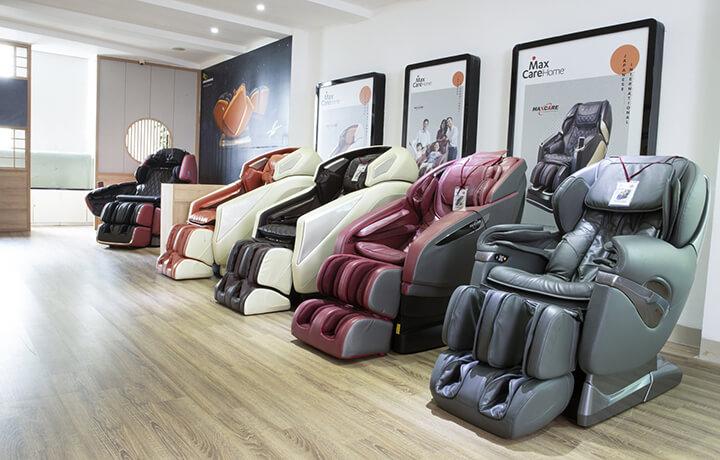 Ghế massage Maxcare là một trong những phân nhánh kinh doanh của công ty Maxcare