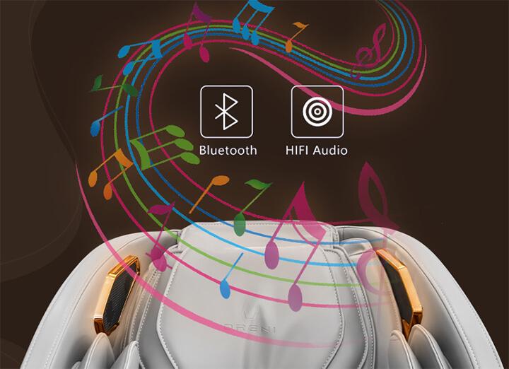 Tận hưởng cảm giác thư thái, giảm stress với những giai điệu âm nhạc từ tính năng kết nối Bluetooth