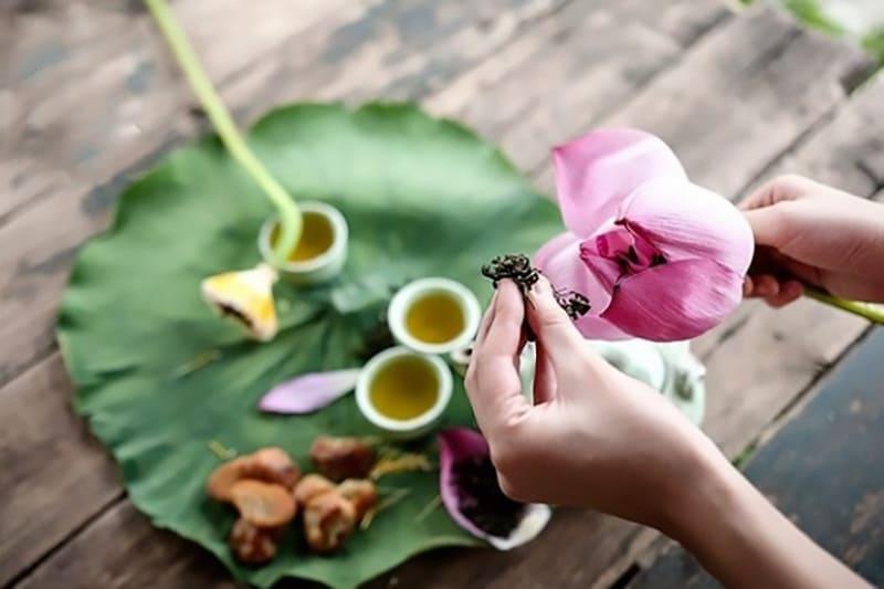 Bỏ túi 5 cách uống trà lá sen giảm cân an toàn, hiệu quả nhanh