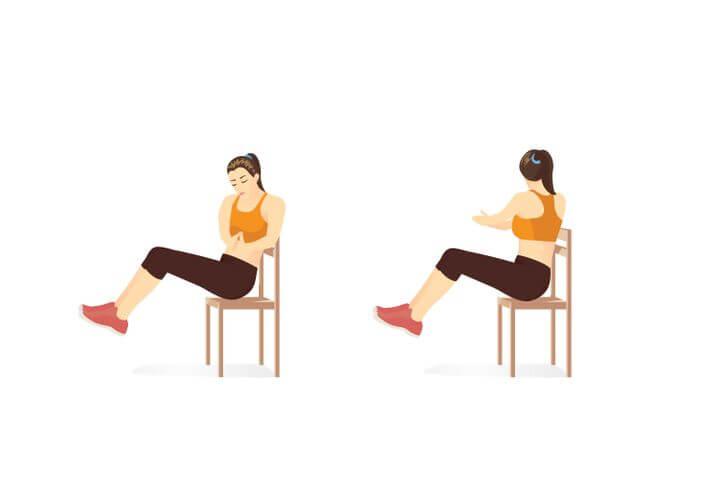 Oblique Pull Ups là bài tập đơn giản hỗ trợ giảm béo bụng nhanh chóng