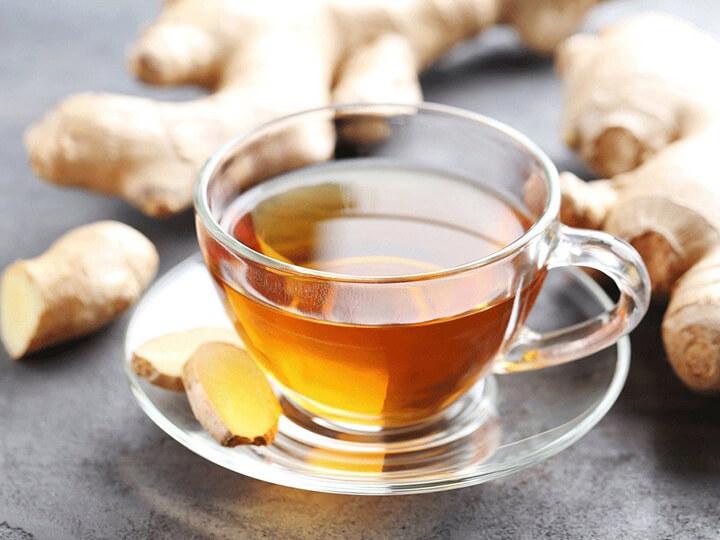 Cốc trà gừng ấm hỗ trợ giảm cân nhanh chóng