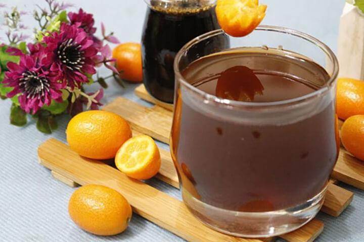 Mật ong và quất là thức uống tốt cho việc giảm cân trước khi ngủ