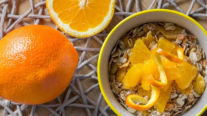 Vỏ cam có nhiều thành phần tốt cho sức khỏe