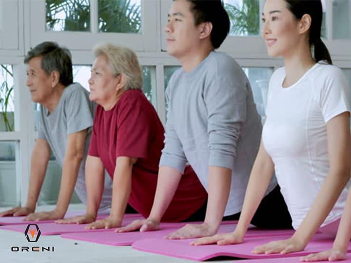 Tập thể dục thường xuyên là phương pháp bảo vệ sức khỏe cho người cao tuổi