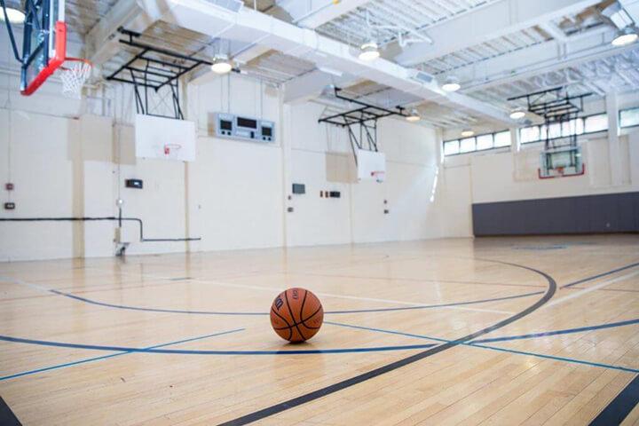Vẽ sân bóng rổ tiêu chuẩn