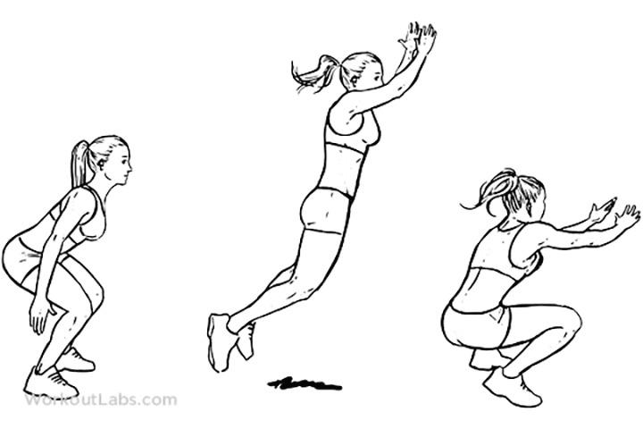 Bài tập Stand Long Jump giúp rèn luyện thể chất rất tốt