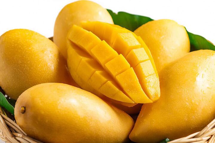 Xoài là loại quả có vị ngọt, mùi thơm hấp dẫn