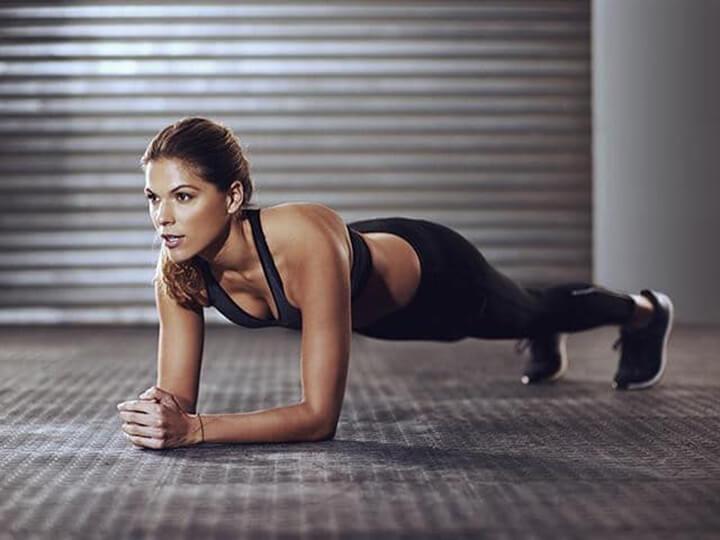 Bài tập Plank cơ bản hỗ trợ giảm béo toàn thân hiệu quả