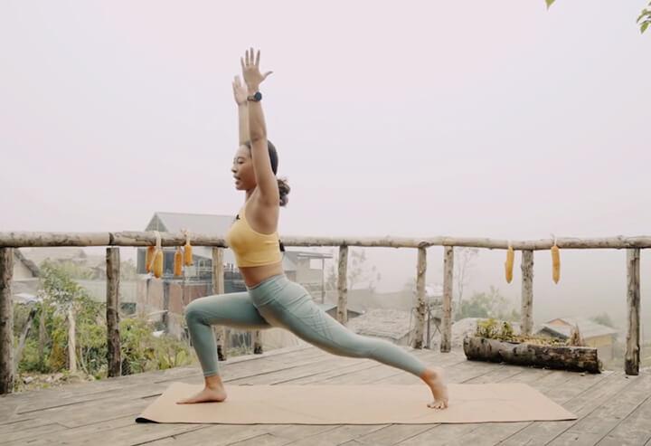Tập Yoga giúp giảm mỡ đùi hiệu quả