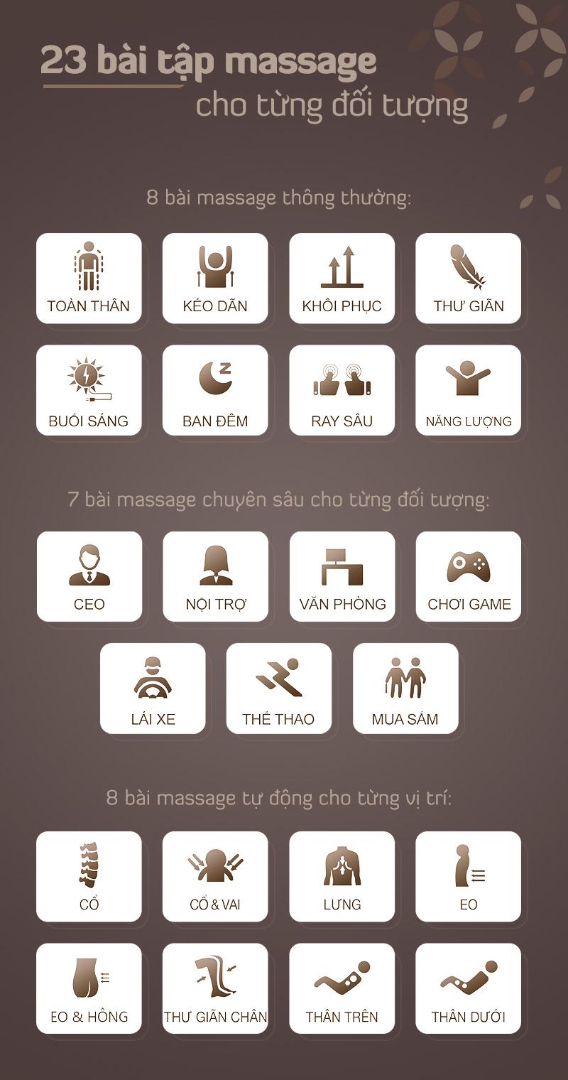 các bài tập massage thư giãn đỉnh cao tuyệt vời