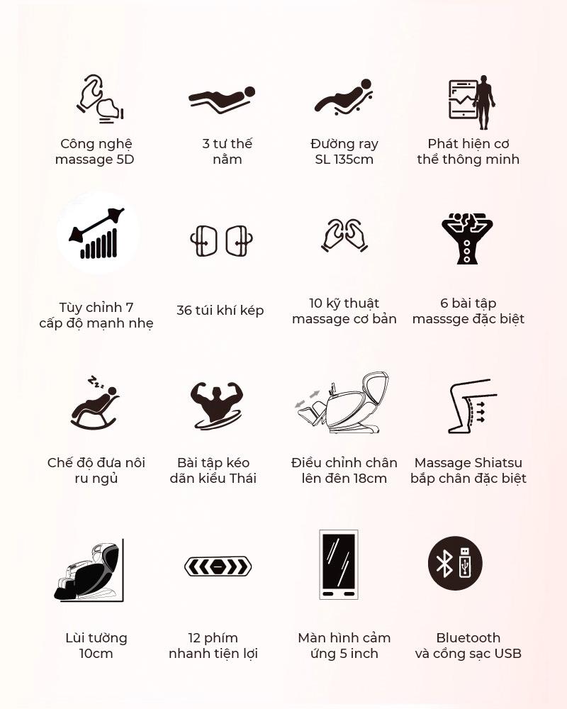 Đa dạng chương trình massage thoải mái cho bạn lựa chọn