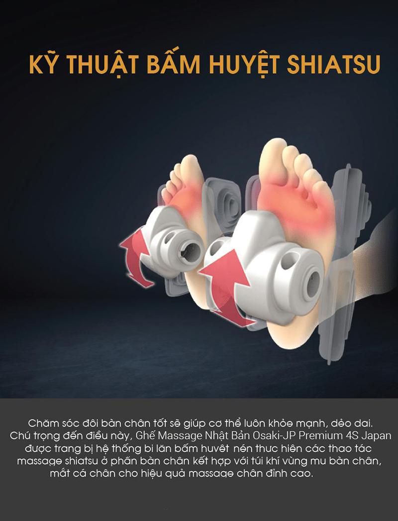 Kỹ thuật bấm huyệt Shiatsu