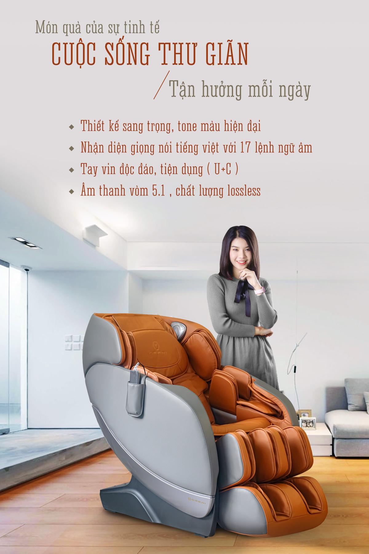 giới thiệu ghế massage toàn thân oreni or-180