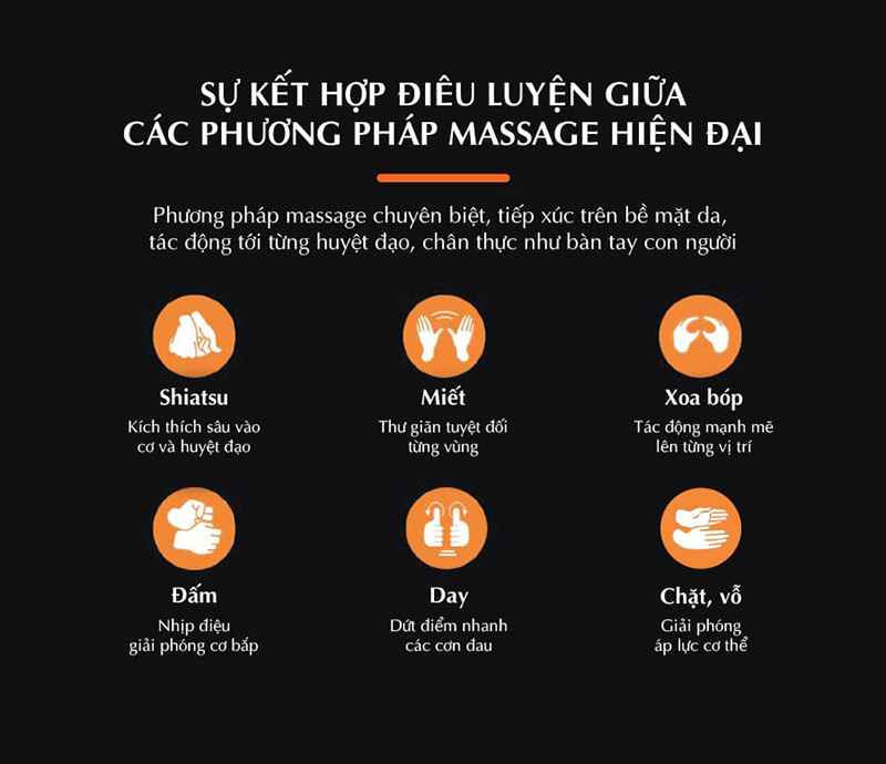 Ghế massage Oreni OR-200