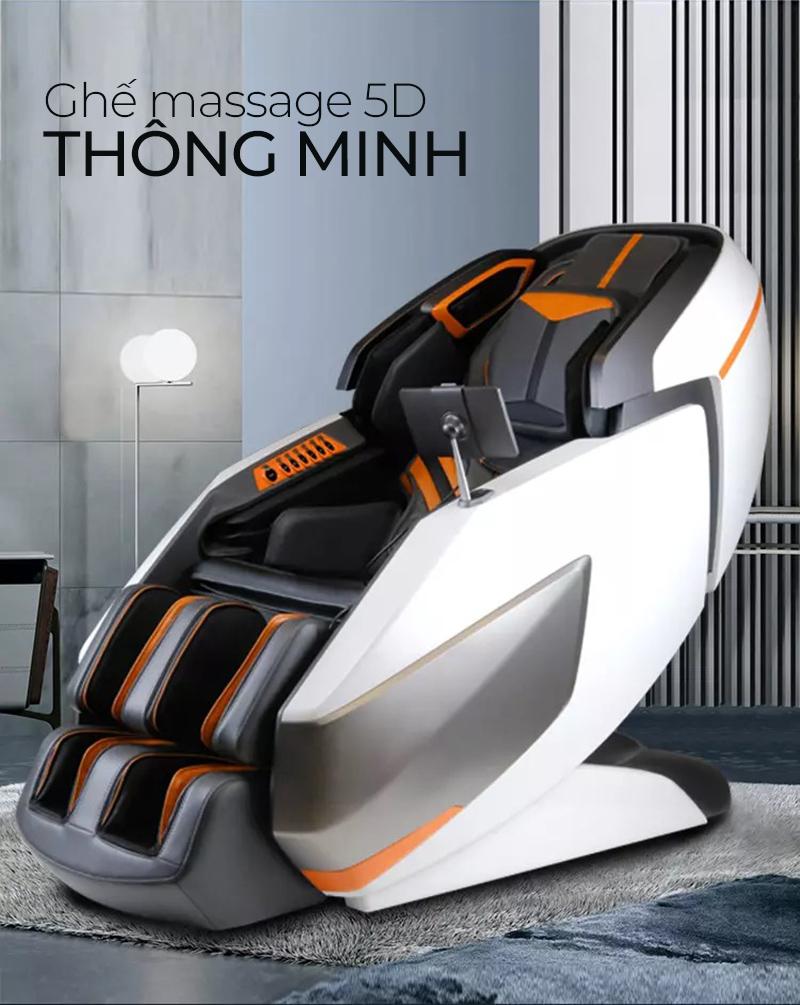 thiết kế sang trọng đẳng cấp của ghế massage Oreni OR-700