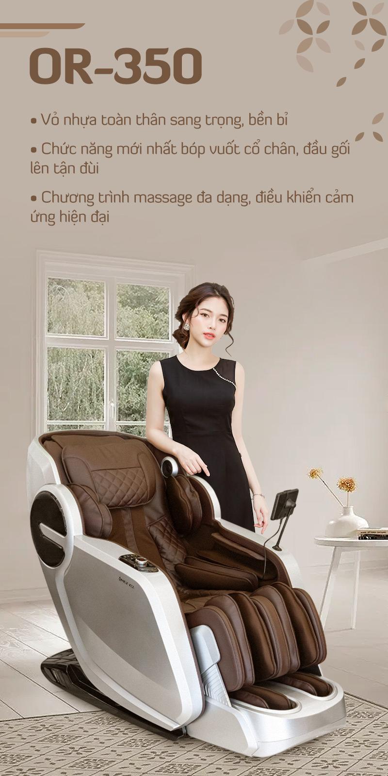 giới thiệu ghế massage oreni or-350