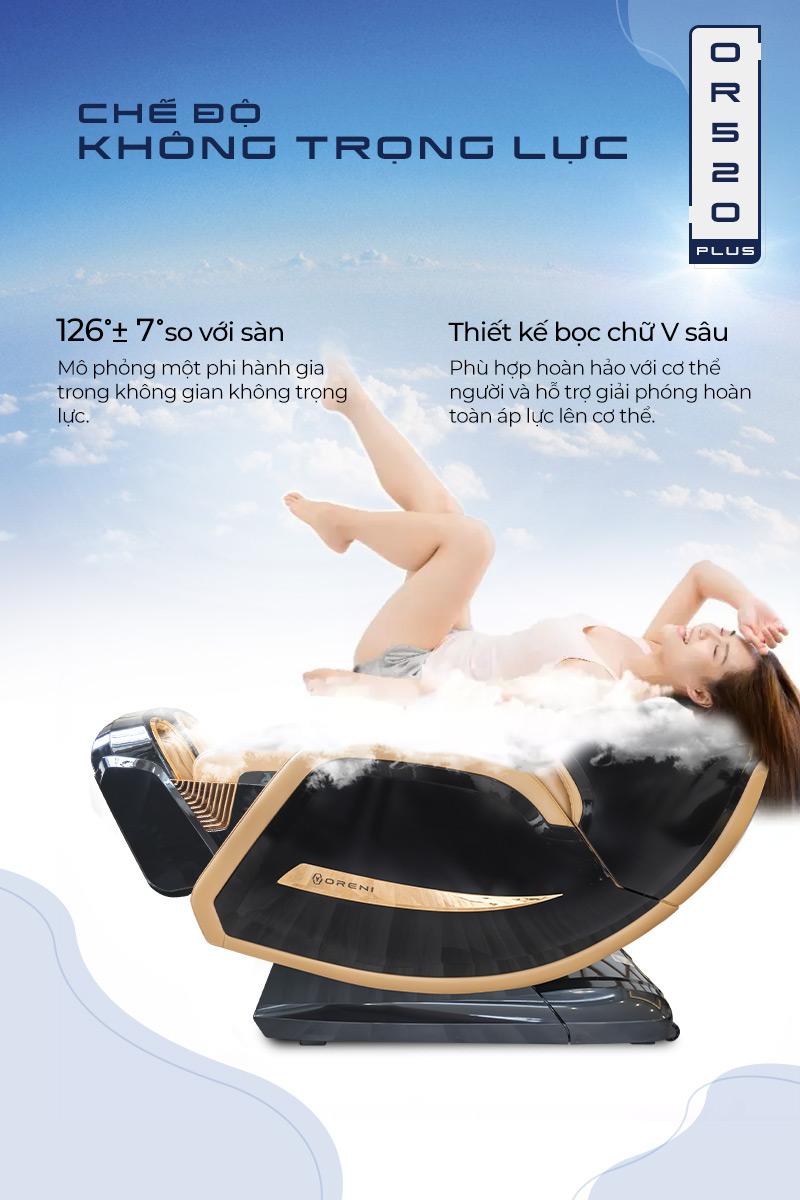 Tính năng massage không trọng lực bay bổng trên không