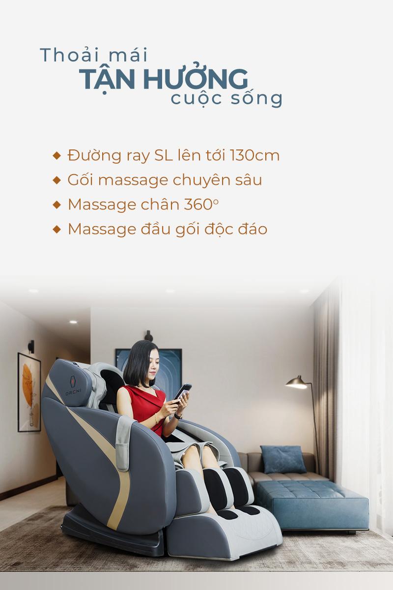 ưu điểm của ghế massage toàn thân oreni or-150