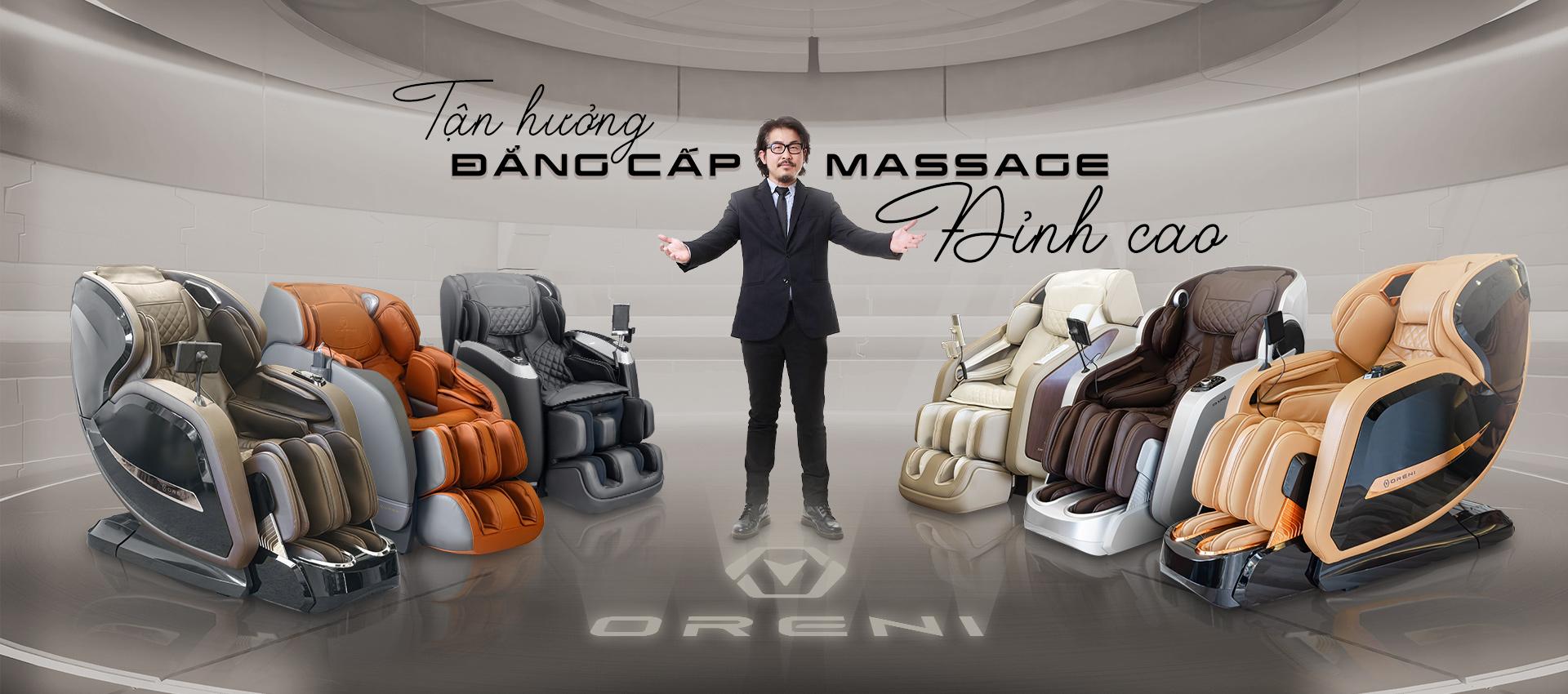tận hưởng cảm giác massage đỉnh cao cùng oreni