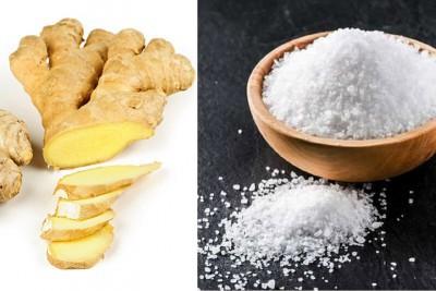 3 Cách giảm mỡ bụng bằng muối gừng hiệu quả nhanh tại nhà