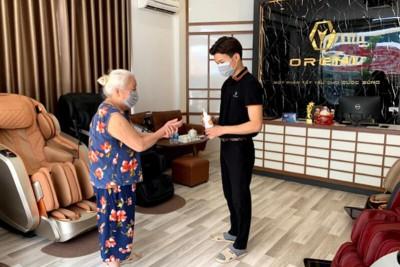 Cùng ghế massage Oreni bảo vệ sức khỏe mùa dịch Covid-19