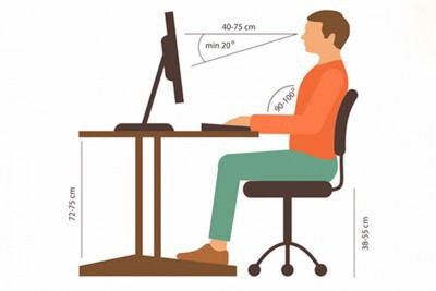 [Hướng dẫn] Tư thế ngồi đúng cho dân văn phòng khi làm việc